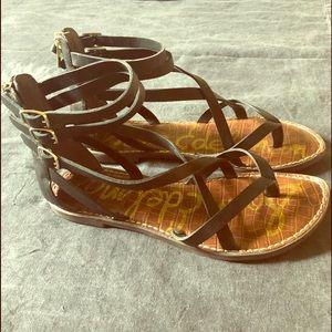 Sam Edelman Sandals Size 8 in Black